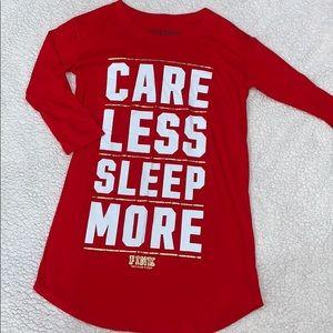 ✅PINK Red Sleep Dress